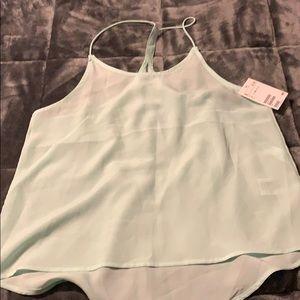 H&M never worn light green camisole
